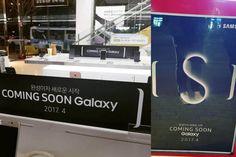 Samsung Galaxy S8 Event-Poster bestätigt Verkaufsstart im April
