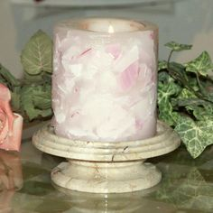 Cameo Tray Candle Holder - CEO104