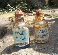Witch Potion Bottle FAIRY DUST