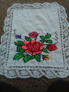 Crochet Home, Cross Stitching, Cross Stitch Patterns, Free Pattern, Diy And Crafts, Wings, Elsa, Crochet Edgings, Cross Stitch Embroidery