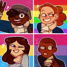 Hamilton pride icons pack 1/? by Violet-Madness