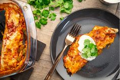 Check out these mouth-watering Chicken Enchiladas, made with Olivado's world-famous avocado oil. Cooking Avocado, Green Capsicum, Fresh Coriander, Grated Cheese, Chicken Enchiladas, Cooking Oil, Chicken Breasts, Tortillas, 1 Cup