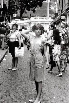 Isabelle Huppert by Robert Doisneau, 1985.