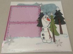Frozen Double Page Layout Etsy - Papercraftsbyviolet