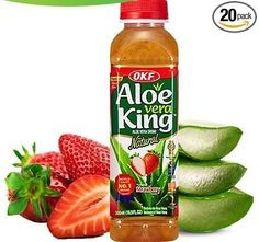 Aloe Vera King Juice Strawberry, 16.9-Ounce (Pack of 20) ** Find out more…