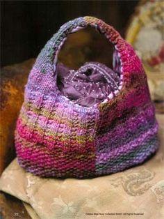 Noro Bag - FREE pattern