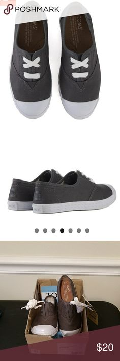 Toms Canvas Sneakers Brand New!!! These sneakers are brand new.  Refer to pics. Have any questions. I'm here. Toms Shoes Sneakers