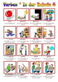 Verben _ In der Schule 6