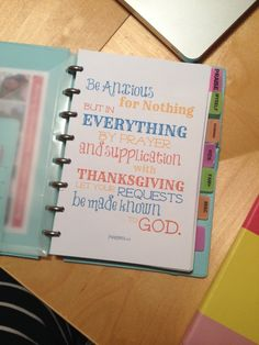 Praying the Write Way: A Look At My Prayer Notebook