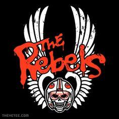 Star Wars: Rebel Alliance / The Warriors: Logo mashup t-shirt.  #StarWars #TheWarriors #RebelAlliance