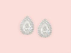 Diana Earrings - Kate Ketzal - Bridal Jewellery, Wedding Jewellery and Wedding Accessories