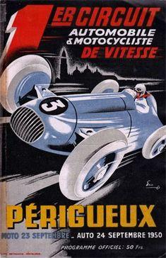 """ZELTWEG Grand Prix  Von Osterreich Formula 1-24/""""x36/"""" Canvas Racing Poster"""