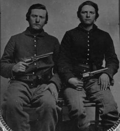 Private Robert A. Adair and Sgt. Company C, Tennessee Cavalry, Union Army. Union Army, Civil War Photos, American Civil War, Old West, Sailors, Family History, Tennessee, Men's Fashion, Novels