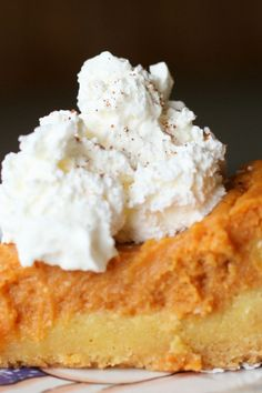 Pumpkin Gooey Butter Cakes Recipe Using Cake Mix, Pumpkin, and Cream Cheese ~