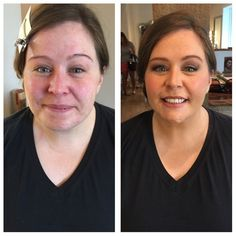 Makeup Application, Wedding makeup done here at Canvas beauty bar! What a beautiful and natural highlight this gives her!