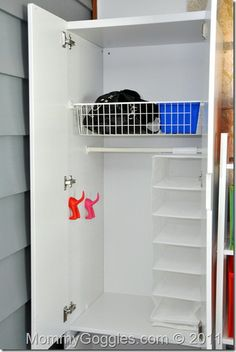 Ikea Stuva craft storage Easy to renovate any cupboard into craft/toy/ or even dress up storage