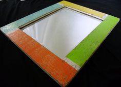 Colors of Key West Cedar Mirror by SeaBoards on Etsy, $99.99