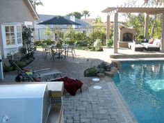 66 Perfect Backyard Makeover With Pool Design