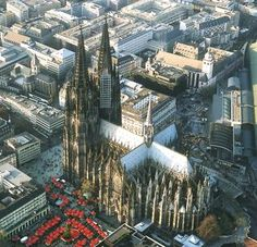 Koln Germany. A short visit in 2004. The cathedral is spectacular... my first in Europe. When I was there it was being cleaned... by now the exterior might be sparkling white. Also visit the candy factory.