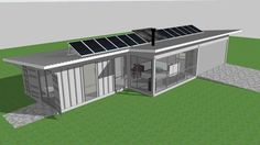 ISBU Aussie Bush Retreat (Shipping Container House) interesting design