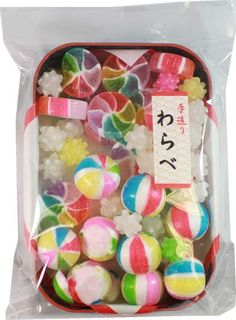 Kyoto Candy Warabe (Pinwheel and Paper Balloon) $5.00 http://thingsfromjapan.net/kyoto-candy-warabe-pinwheel-paper-balloon/ #kyoto candy #traditional Japanese candy #Japanese snack #delicious Japanese candy