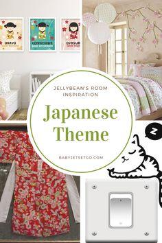 Jellybean's Japanese Themed Room - Baby, Jet Set, Go! Inspiration Boards, Room Inspiration, Room Themes, Jelly Beans, Jet Set, Baby Room, This Is Us, Japanese, School