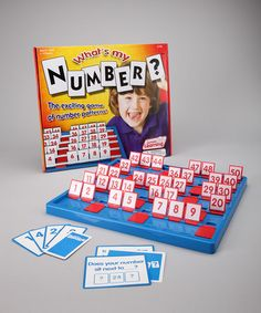 Take a look at this What's My Number? Game by Junior Learning on #zulily today!
