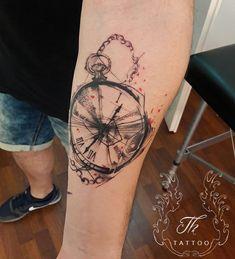 clocktattoo, splashtattoo, sketchtattoo, tattoobucharest, tatuajebucuresti, tatuajemana, tatuajebaieti, tatuajeceas