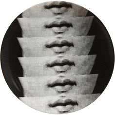 """Plate 250 from Piero Fornasetti's """"Theme and Variations"""" series"""