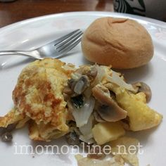 Easy, yummy, #healthy #breakfast idea: cheesy mushroom and basil #omelet. Recipe now up at the blog!
