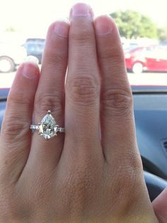 pear ring. wow, I really like this