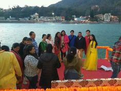 Shivin with a yrkkh team