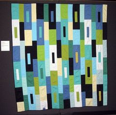 geometric quilts | ... Scapes by cherry house quilts, via Flickr | Quilts from Rectangl