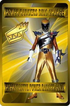 Pterodactyl Power Ranger Gold by rangeranime on @DeviantArt
