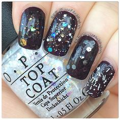 Saw all these shades at the salon today! Comet in the Sky, Snow Globetrotter, So Elegant, and I'll Tinsel you in Love