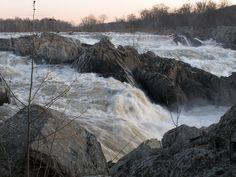 Great Falls National Park. Virginia.