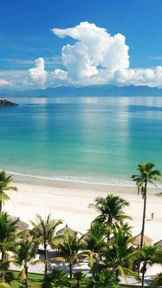 Preciso de praia.