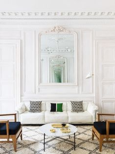 Modern white Paris l