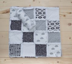 Image of Nighty Night Raggy Rag Quilt, Quilts, Keepsake Quilting, Nighty Night, Sewing Projects, Nursery, Blanket, Baby, Handmade