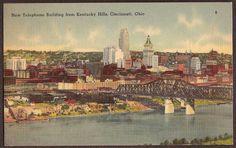 Old Photos of Cincinnati Ohio | Cincinnati, Ohio c1940 Vintage Postcard - New Telephone Building from ...