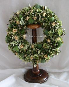 My home made wreath......