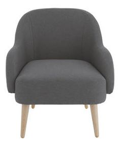 Buy Habitat Momo Tub Armchair - Charcoal at Argos.co.uk - Your Online Shop for Armchairs and chairs.