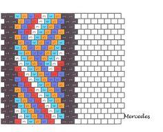 EL BLOG DE MERCEDES: ESQUEMAS PULSERAS/ BRACELET PATTERNS