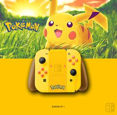 Joy Con Pokémon. If U like it, follow me on Twitter ! joycon, nintendo switch, dock, joy-con