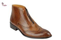 Homme à Lacets Oxford lacets perforé richelieu à Chaussures Taille UK 6-12