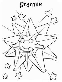 Disegni da colorare per bambini. Colorare e stampa Pokemon 29