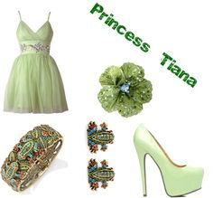 """Princess Tiana"" by fandomsfangirl on Polyvore"