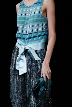Giorgio Armani Spring 2013 Ready-to-Wear Fashion Show Details