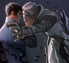 *crying* I love dishonored so much. I so fucking love the Outsider and royal protector Corvo Attano. and… I don't care, I ship it (thank u Bethesda for the second part of my favorite game)