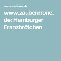 www.zaubermone.de: Hamburger Franzbrötchen